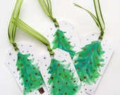 Holiday Gift Tags - Christmas Trees