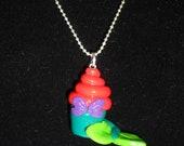 Mermaid Cupcake Pendant
