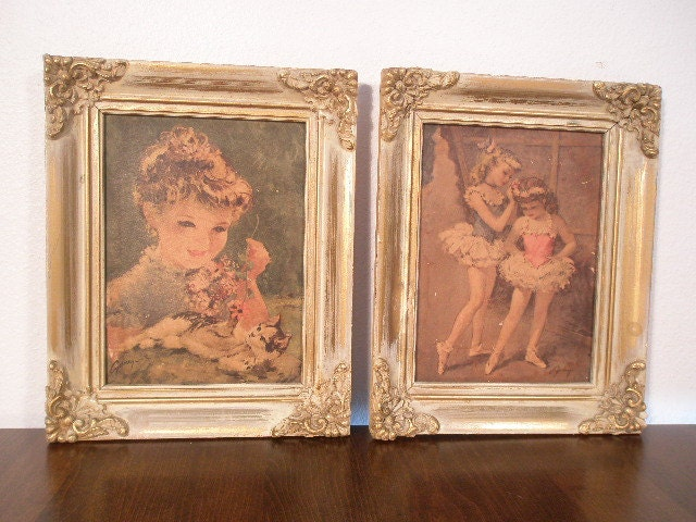 Vintage Children S Painting Prints Cydney Grossman
