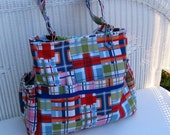 Zoey CUSTOM Diaper Bag and Changing Pad  / Cross Body Bag