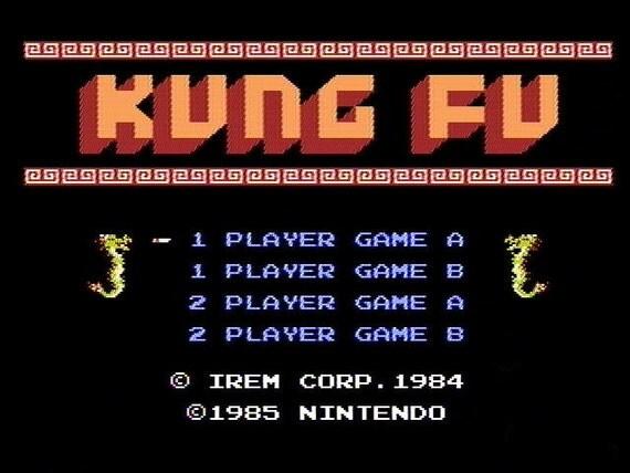 Kung Fu - 1985 NES Nintendo Cartridge