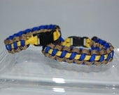 550 Paracord Bracelet in CHP Colors