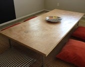 Low Rise Hollow Core Table - Natural - Made To Order
