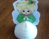 Christmas Honeycomb Angel - Vintage Decorations