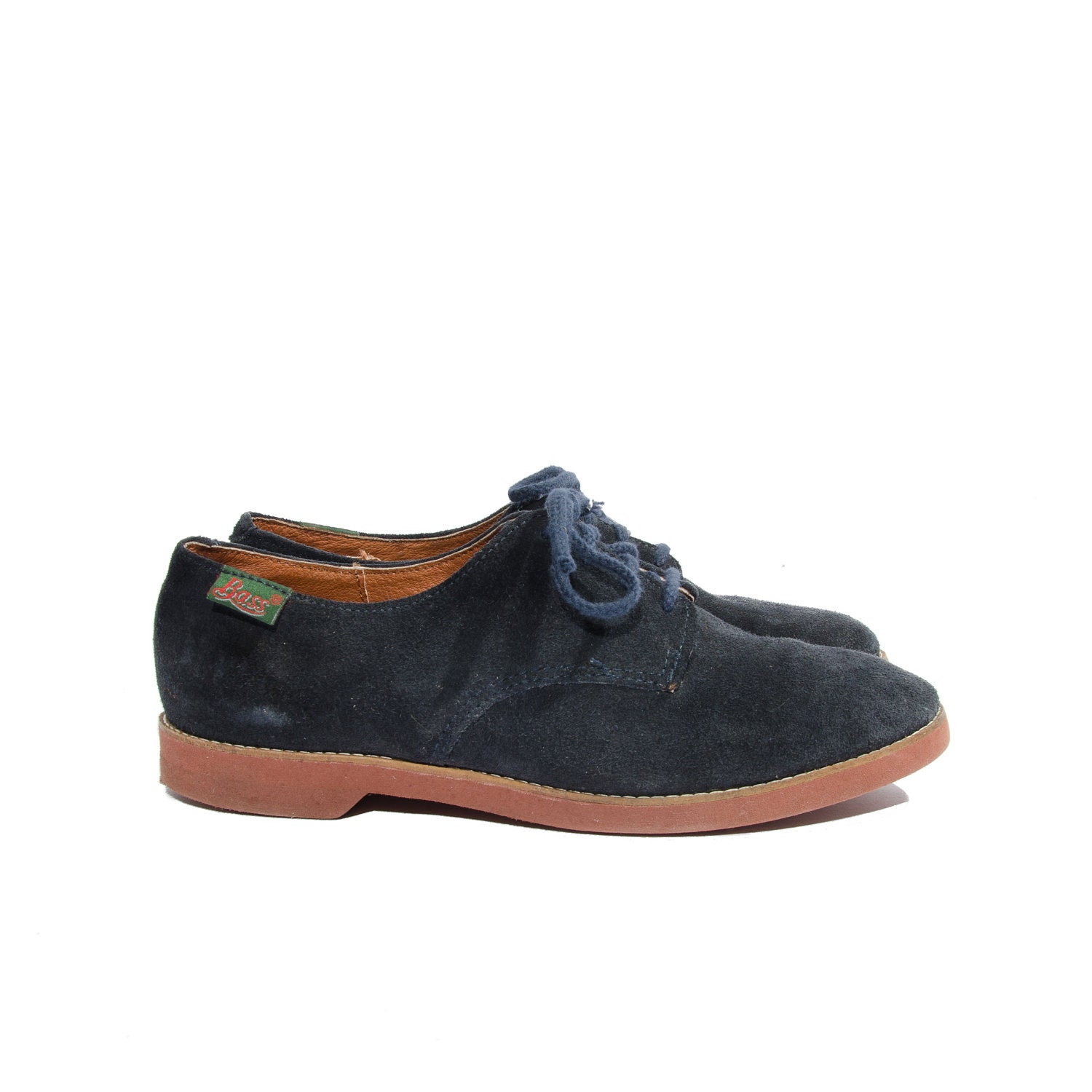 blue suede shoes s oxford shoes by bass size 8 1 2 m
