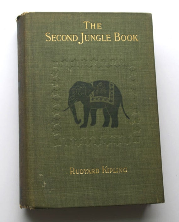 JUNGLE BOOK, Rudyard Kipling, 1895, 1st US Edition