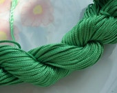 36m 1mm Green Chinese Cotton Thread String Line for Bracelet Necklace Jewelry Accessories g959052