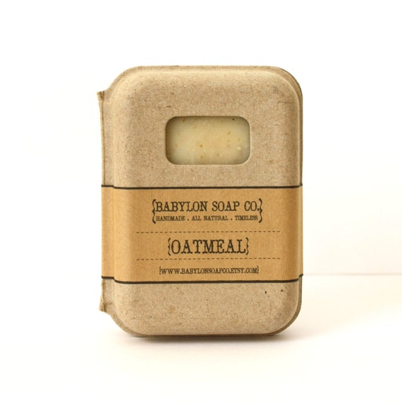 Oatmeal Soap . Exfoliating Soap . All Natural Soap . Handmade Soap . Unscented Soap . Hot Process Soap . Vegan Soap