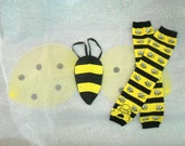 Bumble Bee Wings and Leg Warmers