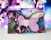 Butterfly Magnet on Free Standing Display Card