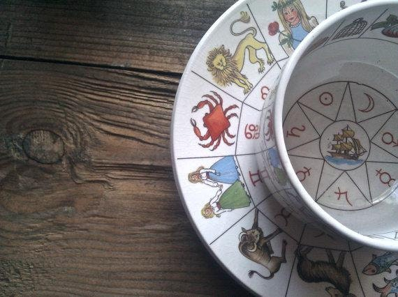 The Taltos Fortune Telling Teacup and saucer