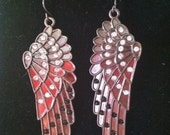 The Gothic Winged Earrings