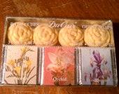 SALE- Du Cair floral bath cubes/ guest soap multipack