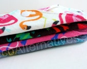 Panty Liners Set of 4 Reusable Cloth Pantyliners by EcoAlternatives