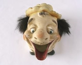 Vintage Ashtray Hobo Ashtray Clown Funny Unique Gag Gift Birthday Present for Smoker by Tilso