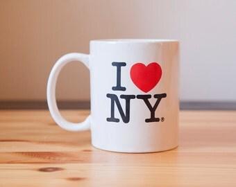 I Love New York/ I Heart New York Mug Souvenir Mug Big Apple