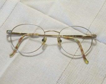 Round Eyeglass Frames Elegant Cosmopolitan Passion Pearl 135