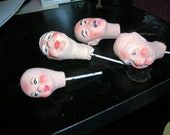 20 Doll Head Supplies reserved for Debbie