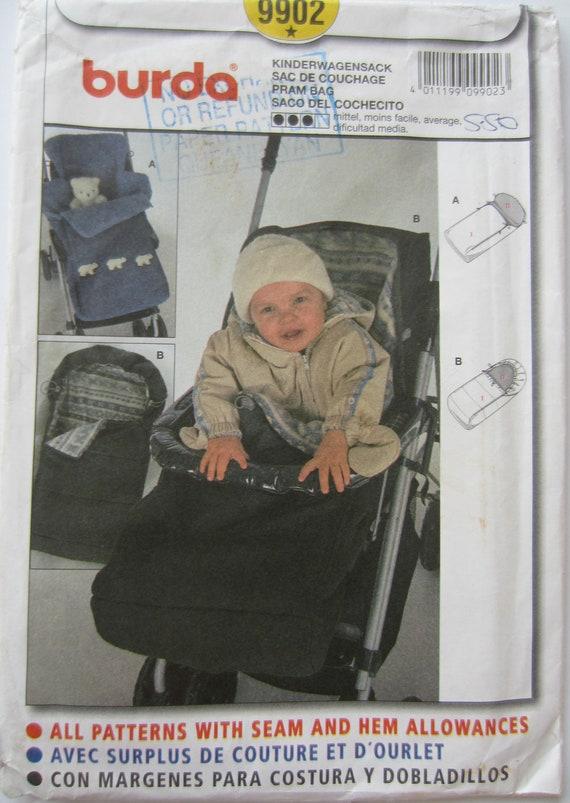 Burda 9902 Sewing Pattern Baby Pram Or By Bananaorangeapple