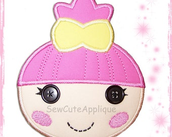Trinket Sparkles Lalaloopsy No Sew Applique Patch