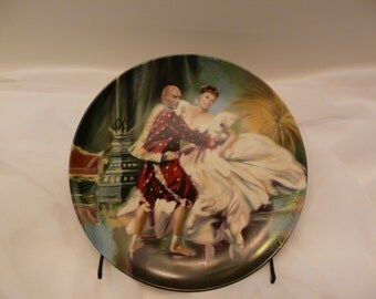 King and I Knowles Collector Plate