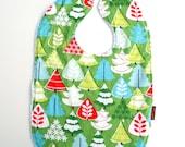Christmas toddler bib Terry cloth bib baby bib