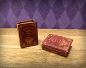 The Standard Book of Spells: a magical wizarding textbook in half inch dollhouse miniature