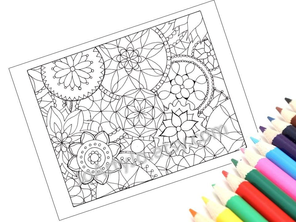 Mandalas Coloring Page Kids Arts