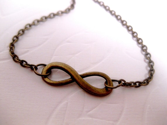 Infinity Necklace Friendship Forever by FashionCrashJewelry