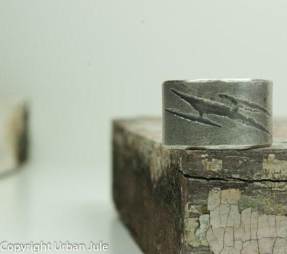 Sterling Silver Ring Mens Ring