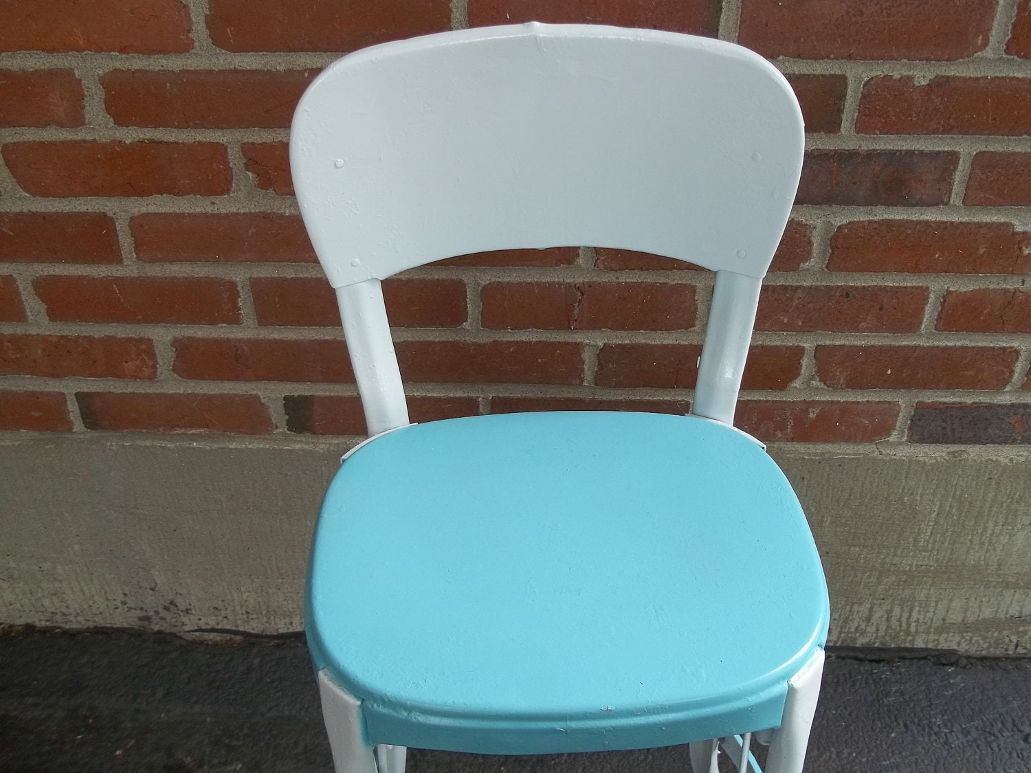 Vintage Cosco All Metal Step Stool Chair In By Route66stlouis