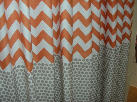 Items similar to baby bedding drapery nursery curtain for Curtain fabric for baby nursery
