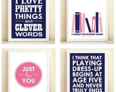 The Pink and Navy Collection