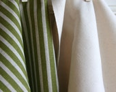 Olive Linen in Carrie Home Decor Weight Fabric from Premier Prints - ONE FAT QUARTER Cut