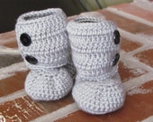 Ugg Inspired Ankle Boots, 0-6 month or 6-12 month sizing