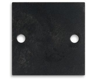 Free US Shipping vintaj arte metal squares 29mm  2 Hole Plate  --special price--