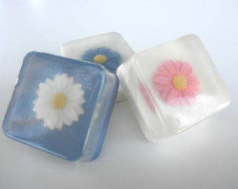 Daisy Wedding Soap Favors