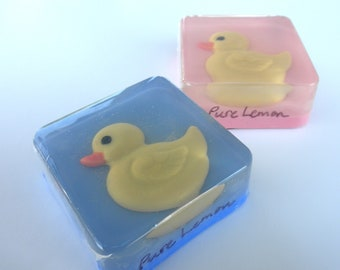 Rubber Duck Favors, glycerin soap
