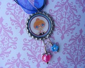 Lalaloopsy Littles Bottlecap Beaded Necklace