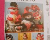 McCalls 4996, Holiday, Christmas, snowman