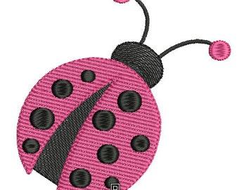 Ladybug machine embroidery design download