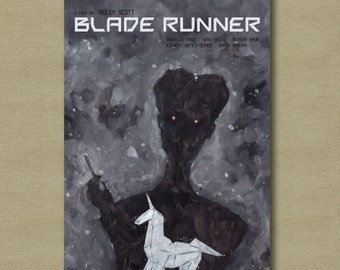 Blade Runner - 11 x 17 Scifi Alternative Movie Poster