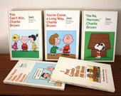 Charlie Brown Peanuts Book Collection, Snoopy, Set of 5