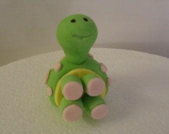 Fondant Turtle Cake Topper