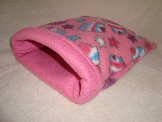 Sleeping bag for small animals- guinea pigs, hedgehogs, rats, etc ...