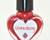 Strawberry Nail Polish 5ml Mini Bottle
