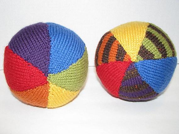 Rainbow knit wool ball with jingle bells inside..you choose