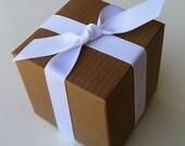 25 wedding shower  favor boxes - DIY Favor