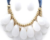 Teardrop Statement Necklace- CUSTOM LISTING FOR Jessica