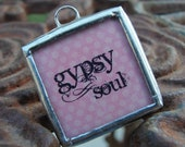 Gypsy Soul Reversibile Soldered Charm Necklace